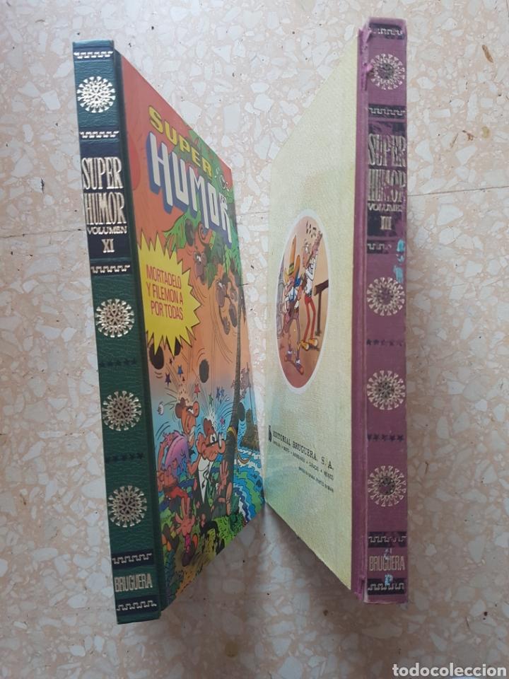 Tebeos: 2 Tomos de Super Humor volumen III y XI Editorial Bruguera - Foto 4 - 207163666