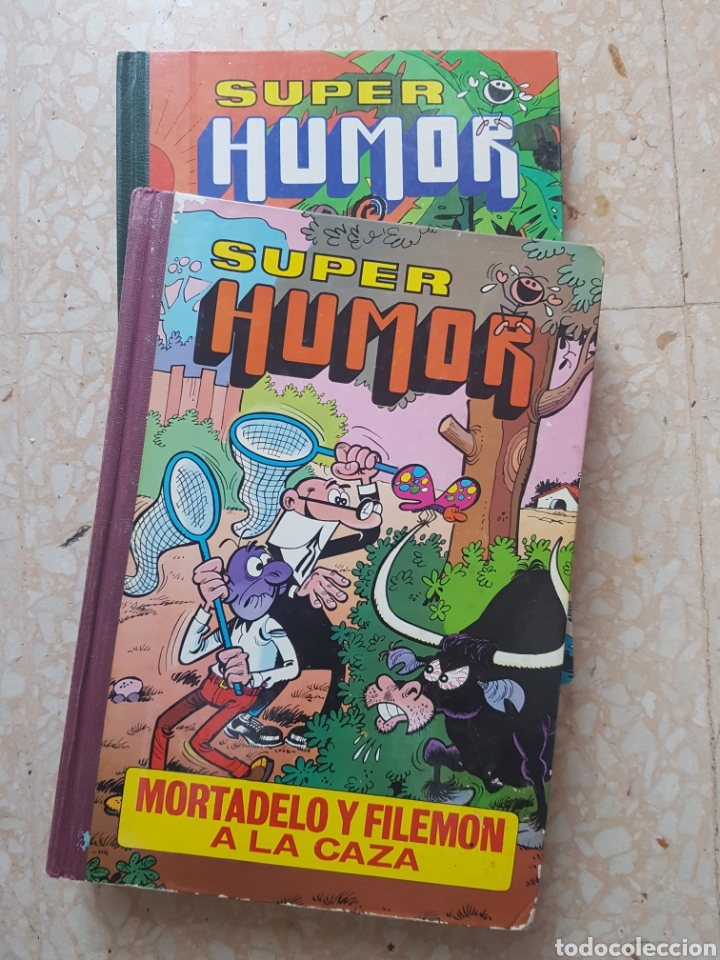 2 TOMOS DE SUPER HUMOR VOLUMEN III Y XI EDITORIAL BRUGUERA (Tebeos y Comics - Bruguera - Mortadelo)