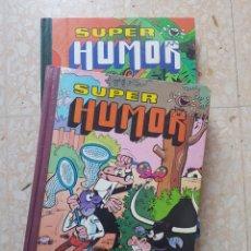 Tebeos: 2 TOMOS DE SUPER HUMOR VOLUMEN III Y XI EDITORIAL BRUGUERA. Lote 207163666