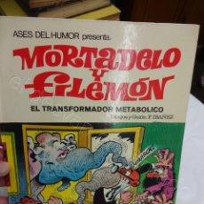 Tebeos: MORTADELO Y FILEMON. EL TRANSFORMADOR METABÓLICO. COL. ASES DEL HUMOR. MBE. Lote 207201552