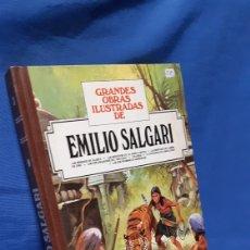 Tebeos: GRANDES OBRAS ILUSTRADAS DE EMILIO SALGARI NÚMERO 3. Lote 289889113