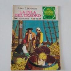 Tebeos: JOYAS LITERARIAS JUVENILES NÚMERO 2 LA ISLA DEL TESORO 1 EDICIÓN 1970 EDITORIAL BRUGUERA. Lote 207224127