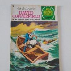 Tebeos: JOYAS LITERARIAS JUVENILES NÚMERO 8 DAVID COPPERFIELD 4 EDICIÓN 1978 EDITORIAL BRUGUERA. Lote 207224643