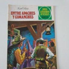 Tebeos: JOYAS LITERARIAS JUVENILES NÚMERO 36 ENTRE APACHES Y COMANCHES 4 EDICIÓN 1981 EDITORIAL BRUGUERA. Lote 207225852