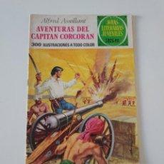 Tebeos: JOYAS LITERARIAS JUVENILES NÚMERO 80 AVENTURAS DEL CAPITÁN CORCORAN 2EDICIÓN 1977 EDITORIAL BRUGUERA. Lote 207227431