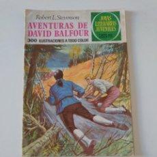 Tebeos: JOYAS LITERARIAS JUVENILES NÚMERO 82 AVENTURAS DE DAVID BALFOUR 2 EDICIÓN 1977 EDITORIAL BRUGUERA. Lote 207227873