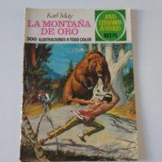 Tebeos: JOYAS LITERARIAS JUVENILES NÚMERO 43 LA MONTAÑA DE ORO 1 EDICIÓN 1972 EDITORIAL BRUGUERA. Lote 207228726