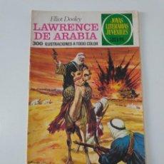 Tebeos: JOYAS LITERARIAS JUVENILES NÚMERO 44 LAWRENCE DE ARABIA 3 EDICIÓN 1976 EDITORIAL BRUGUERA. Lote 207229062