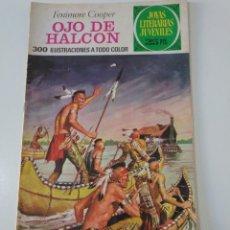 Tebeos: JOYAS LITERARIAS JUVENILES NÚMERO 46 OJO DE HALCÓN 3 EDICIÓN 1976 EDITORIAL BRUGUERA. Lote 207229405