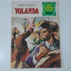 Tebeos: JOYAS LITERARIAS JUVENILES NÚMERO 205 YOLANDA 1 EDICIÓN 1979 EDITORIAL BRUGUERA. Lote 207230693