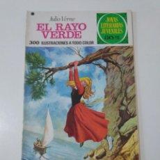 Tebeos: JOYAS LITERARIAS JUVENILES NÚMERO 142 EL RAYO VERDE 2 EDICIÓN 1978 EDITORIAL BRUGUERA. Lote 207232848