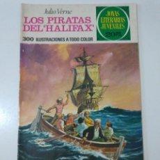 Tebeos: JOYAS LITERARIAS JUVENILES NÚMERO 133 LOS PIRATAS DEL HALIFAX 1 EDICIÓN 1975 EDITORIAL BRUGUERA. Lote 207234081