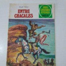 Tebeos: JOYAS LITERARIAS JUVENILES NÚMERO 45 ENTRE CHACALES 4 EDICIÓN 1979 EDITORIAL BRUGUERA. Lote 207234453