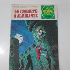 Tebeos: JOYAS LITERARIAS JUVENILES NÚMERO 50 DE GRUMETE A ALMIRANTE 4 EDICIÓN 1979 EDITORIAL BRUGUERA. Lote 207234777