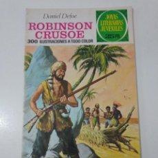 Tebeos: JOYAS LITERARIAS JUVENILES NÚMERO 53 ROBINSON CRUSOE 2 EDICIÓN 1976 EDITORIAL BRUGUERA. Lote 207235148