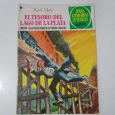 Tebeos: JOYAS LITERARIAS JUVENILES NÚMERO 55 EL TESORO DEL LAGO DE LA PLATA 3 EDICIÓN1978 EDITORIAL BRUGUERA. Lote 207235480