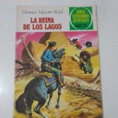 Tebeos: JOYAS LITERARIAS JUVENILES NÚMERO 61 LA REINA DE LOS LAGOS 3 EDICIÓN1979 EDITORIAL BRUGUERA. Lote 207235868