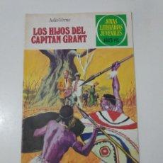 Tebeos: JOYAS LITERARIAS JUVENILES NÚMERO 9 LOS HIJOS DEL CAPITÁN GRANT 5 EDICIÓN1979 EDITORIAL BRUGUERA. Lote 207236286