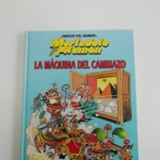 Tebeos: MORTADELO Y FILEMON (LA MÁQUINA DEL CAMBIAZO). MAGOS DEL HUMOR TAPA DURA. Lote 207301598