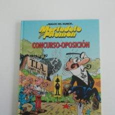 Tebeos: MORTADELO Y FILEMON (CONCURSO-OPOSICIÓN). MAGOS DEL HUMOR TAPA DURA. Lote 207303392