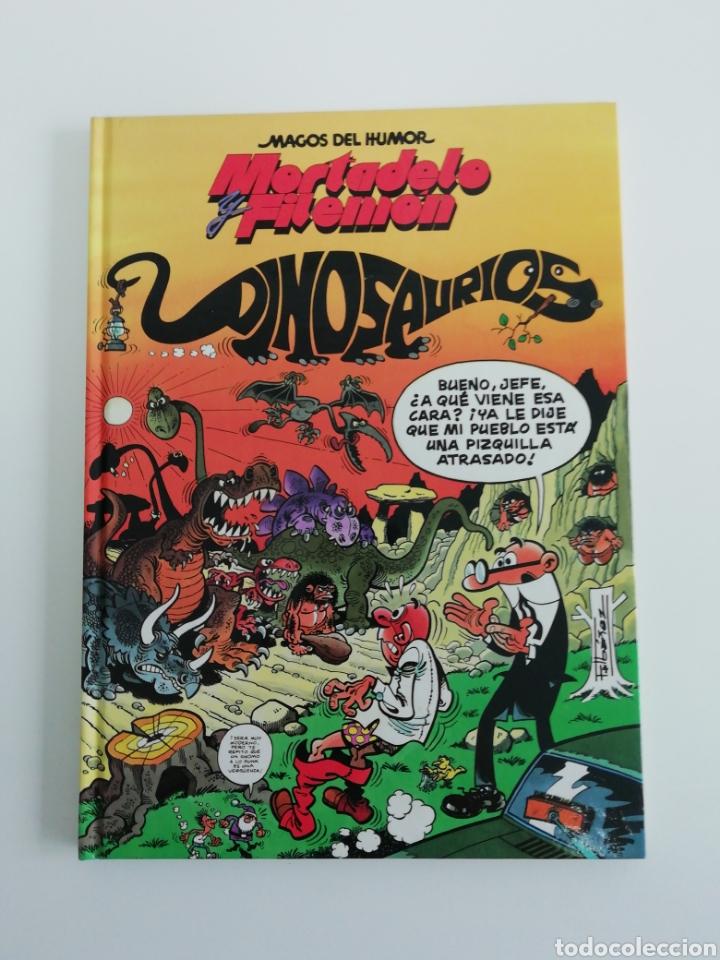 MORTADELO Y FILEMON (DINOSAURIOS). MAGOS DEL HUMOR TAPA DURA (Tebeos y Comics - Bruguera - Mortadelo)