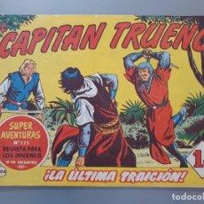 Tebeos: EL CAPITAN TRUENO 204 ORIGINAL AÑO 1960. Lote 207306962