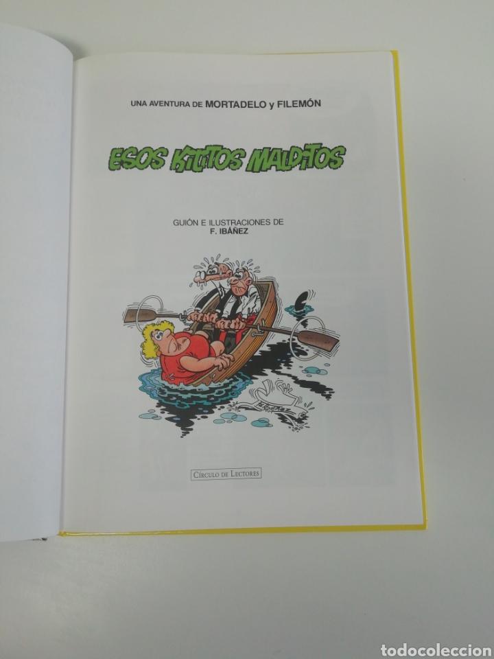 Tebeos: Mortadelo y filemon (ESOS KILITOS MALDITOS). Magos del humor tapa dura - Foto 3 - 207311852