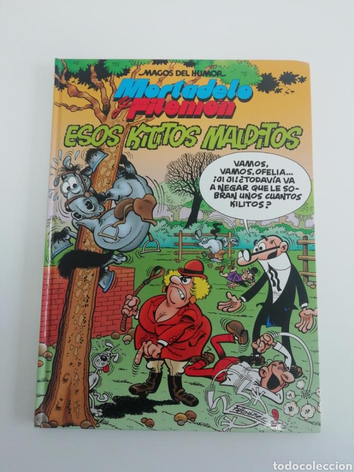 MORTADELO Y FILEMON (ESOS KILITOS MALDITOS). MAGOS DEL HUMOR TAPA DURA (Tebeos y Comics - Bruguera - Mortadelo)