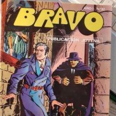 BDs: BRAVO-Nº 32 -INSPECTOR DAN- Nº 16 -EL CASTILLO TENEBROSO-1976-MARTÍNEZ HENARES-BUENO-DIFÍCIL-3513. Lote 207331451