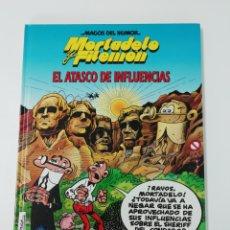 Tebeos: MORTADELO Y FILEMON (EL ATASCO DE INFLUENCIAS). MAGOS DEL HUMOR TAPA DURA. Lote 207367398