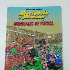 Tebeos: MORTADELO Y FILEMON (MUNDIALES DE FÚTBOL). MAGOS DEL HUMOR TAPA DURA. Lote 207368441