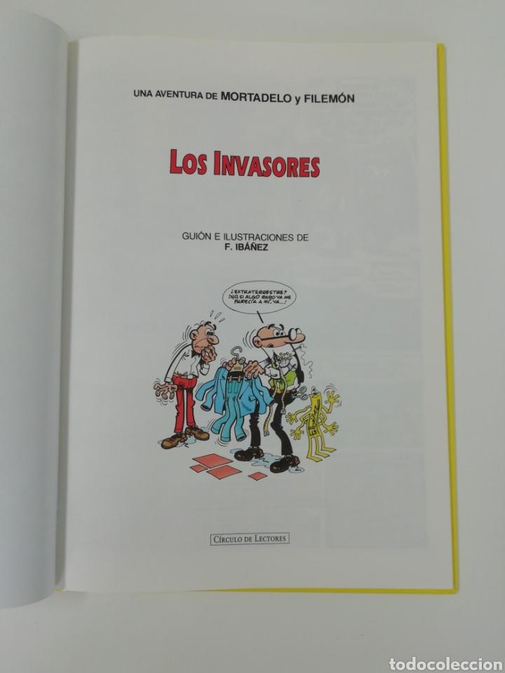Tebeos: Mortadelo y filemon (LOS INVASORES). Magos del humor tapa dura - Foto 3 - 207369905