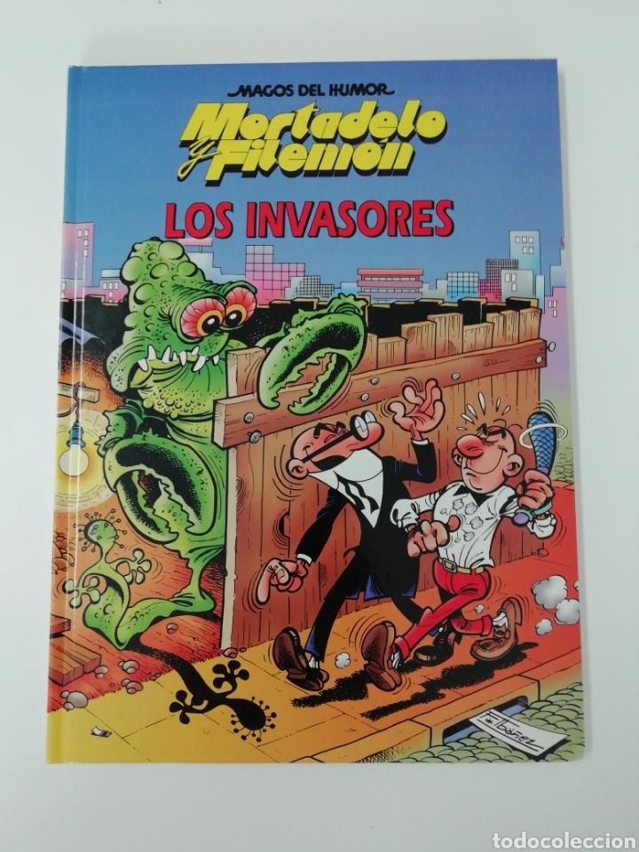 MORTADELO Y FILEMON (LOS INVASORES). MAGOS DEL HUMOR TAPA DURA (Tebeos y Comics - Bruguera - Mortadelo)