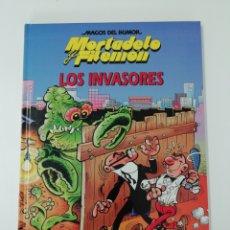 Tebeos: MORTADELO Y FILEMON (LOS INVASORES). MAGOS DEL HUMOR TAPA DURA. Lote 207369905