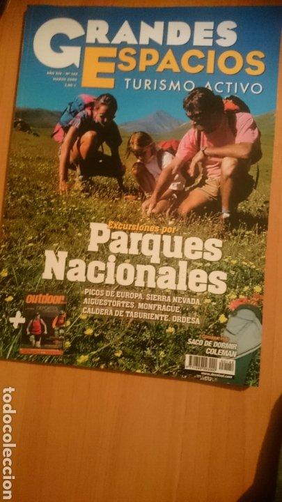 REVISTA GRANDES ESPACIOS. Nº 142, PARQUES NACIONALES, MARZO 2009 (Tebeos y Comics - Bruguera - Otros)