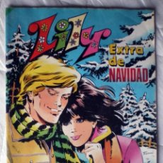 Tebeos: COMIC LILY EXTRA NAVIDAD Nº 42 BRUGUERA 1983 NUEVO-POSTER MARK HAMILL-CARRIE FISHER. Lote 207612553