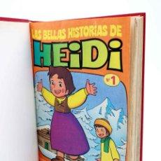 Tebeos: LAS BELLAS HISTORIAS DE HEIDI 1 A 62 (SALVO 58). EN UN TOMO (JAN Y OTROS) BRUGUERA, 1975. Lote 207638818