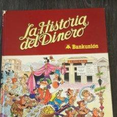Tebeos: MORTADELO Y FILEMÓN LA HISTORIA DEL DINERO BRUGUERA 1980. Lote 207723047