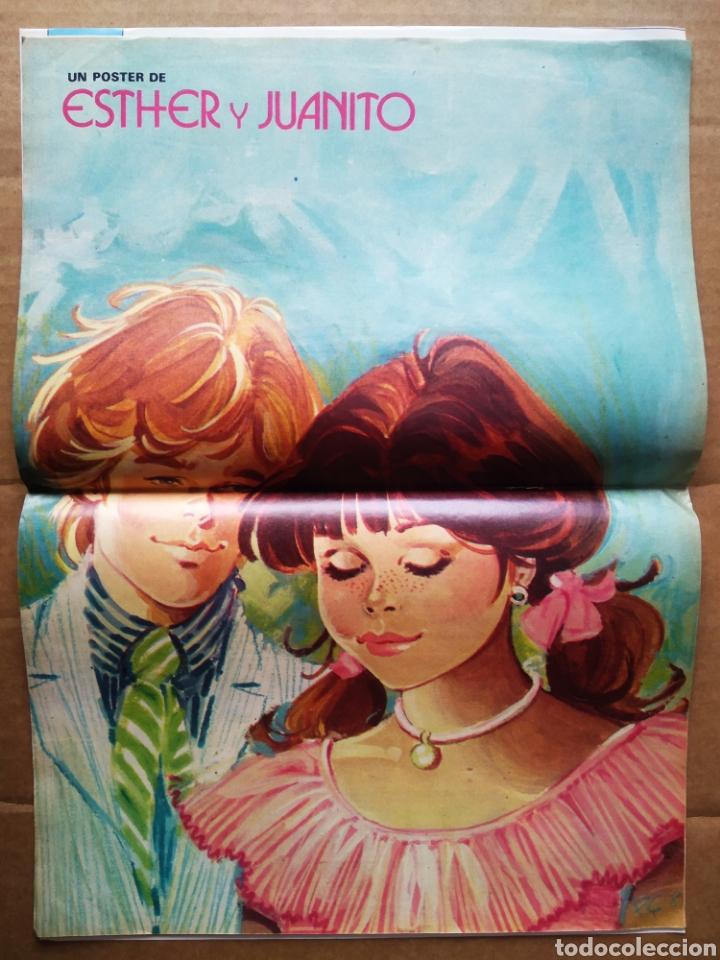 Tebeos: Lote Revista Esther: Números 39-79 (Bruguera, 1983-1984). Pósters de Esther y Juanito y Sting. - Foto 2 - 207735037