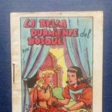 Tebeos: MINI CUENTO - LA BELLA DURMIENTE DEL BOSQUE - TESORO DE CUENTOS BRUGUERA SERIE 11 Nº 6 AÑOS 50/60.. Lote 207771837