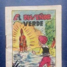 Tebeos: MINI CUENTO - EL RUISEÑOR VERDE - TESORO DE CUENTOS BRUGUERA SERIE 4 Nº 1 AÑOS 50/60.. Lote 207772313