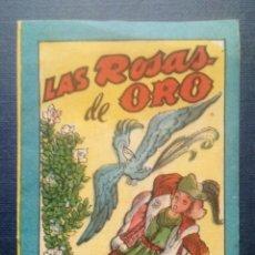 Tebeos: MINI CUENTO - LAS ROSAS DE ORO - CHOCOLATES LA INDUSTRIAL LUCENSE - BRUGUERA SERIE 13 Nº 4 - 1959.. Lote 207773103