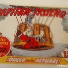 Tebeos: EL CAPITAN TRUENO Nº 287 DUELO EN LAS ALTURAS. Lote 207837548