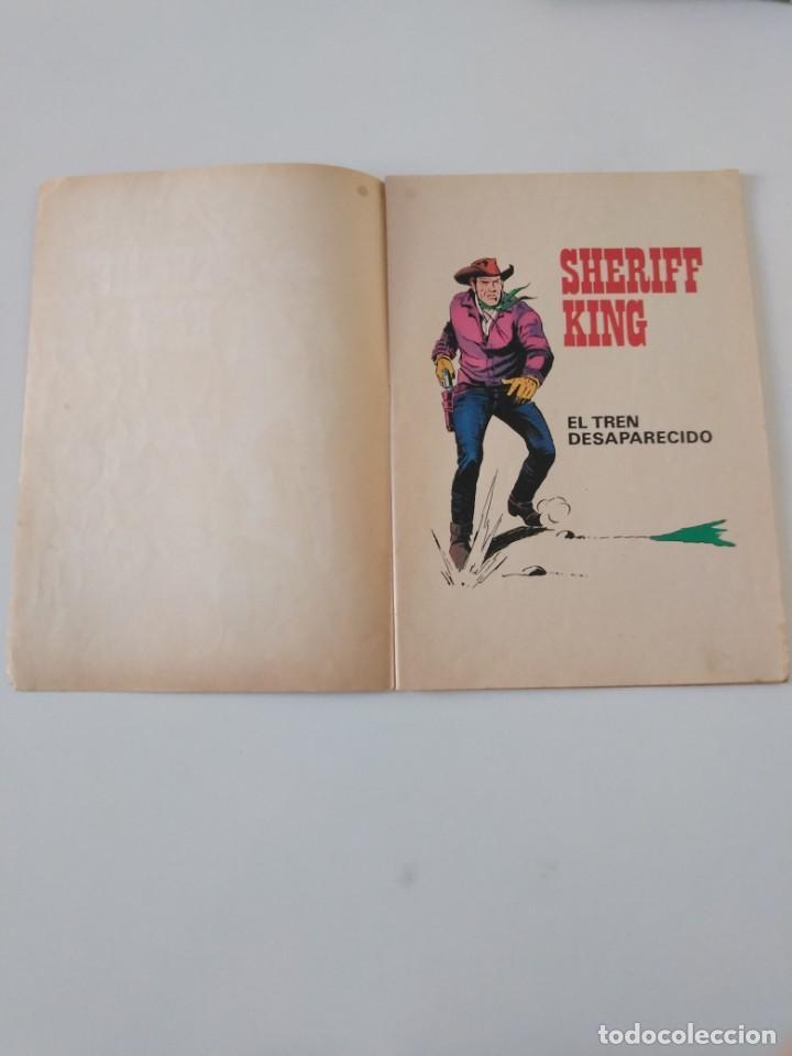 Tebeos: El Sheriff King número 6 El Tren Desaparecido Grandes Aventururas Juveniles 2 Edición 1975 Bruguera - Foto 4 - 207869595