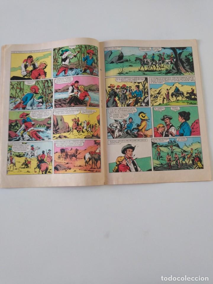 Tebeos: El Sheriff King número 6 El Tren Desaparecido Grandes Aventururas Juveniles 2 Edición 1975 Bruguera - Foto 6 - 207869595