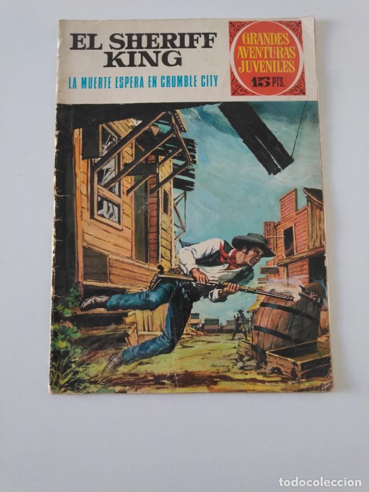 EL SHERIFF KING NÚMERO 16 LA MUERTE ESPERA EN CRUMBLE CITY GRANDES AVENTURURAS JUVENILES 1 EDICIÓN (Tebeos y Comics - Bruguera - Sheriff King)