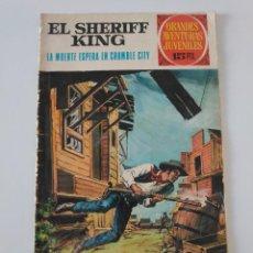 Tebeos: EL SHERIFF KING NÚMERO 16 LA MUERTE ESPERA EN CRUMBLE CITY GRANDES AVENTURURAS JUVENILES 1 EDICIÓN. Lote 207870366