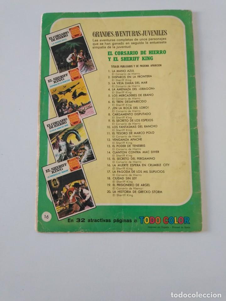 Tebeos: El Sheriff King número 16 La Muerte Espera en Crumble City Grandes Aventururas Juveniles 1 Edición - Foto 2 - 207870366