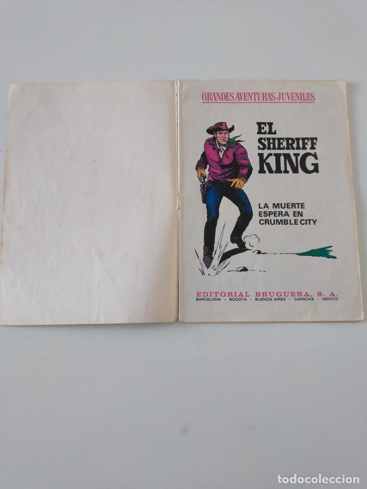 Tebeos: El Sheriff King número 16 La Muerte Espera en Crumble City Grandes Aventururas Juveniles 1 Edición - Foto 4 - 207870366