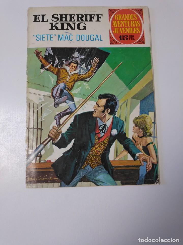 EL SHERIFF KING NÚMERO 22 SIETE MAC DOUGAL GRANDES AVENTURURAS JUVENILES 1 EDICIÓN 1972 BRUGUERA (Tebeos y Comics - Bruguera - Sheriff King)